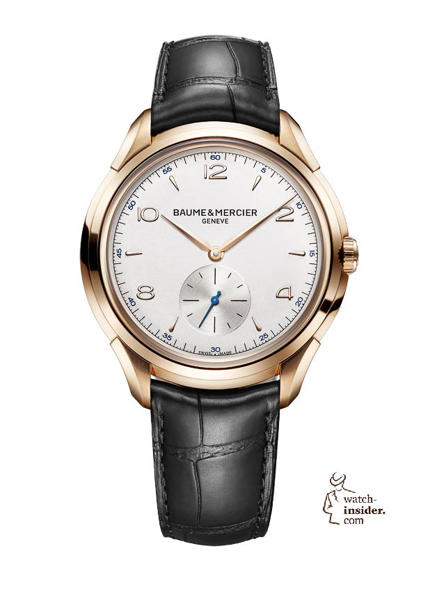 www.watch insider.com | news  | Baume & Mercier presented Clifton at the SIHH 2013 in Geneva | BAUME ET MERCIER CLIFTON 1830 10060 SOLDAT
