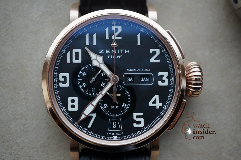 www.watch insider.com | reportages news  | These are the first Zenith Novelties 2013 shown to me by the Zenith CEO | DSC1049 1024x683