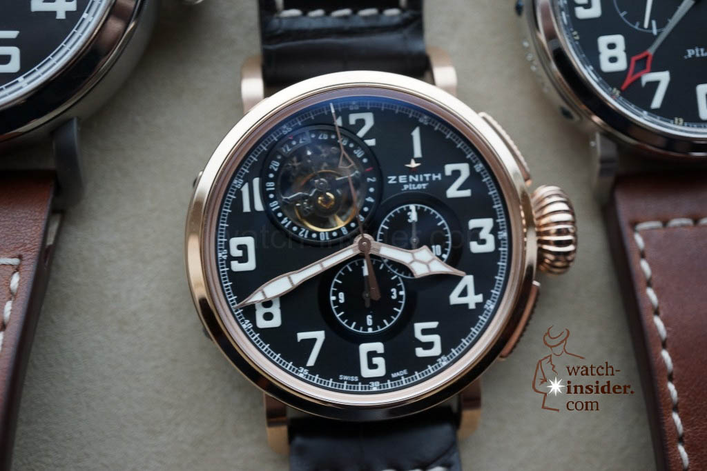 www.watch insider.com | reportages news  | These are the first Zenith Novelties 2013 shown to me by the Zenith CEO | DSC1051 1024x683