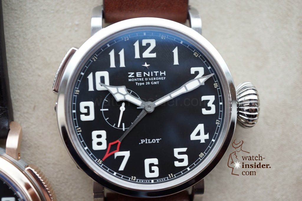 www.watch insider.com | reportages news  | These are the first Zenith Novelties 2013 shown to me by the Zenith CEO | DSC1054 1024x683