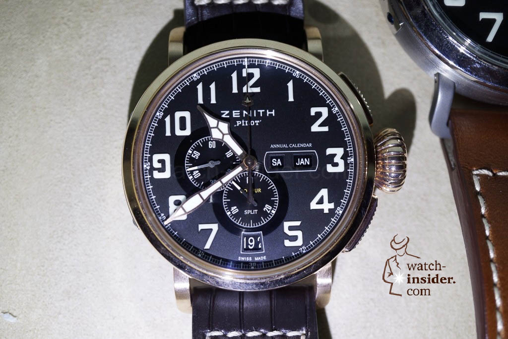 www.watch insider.com | reportages news  | These are the first Zenith Novelties 2013 shown to me by the Zenith CEO | DSC1061 1024x683