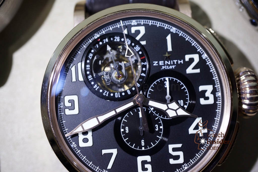 www.watch insider.com | reportages news  | These are the first Zenith Novelties 2013 shown to me by the Zenith CEO | DSC1062 1024x683