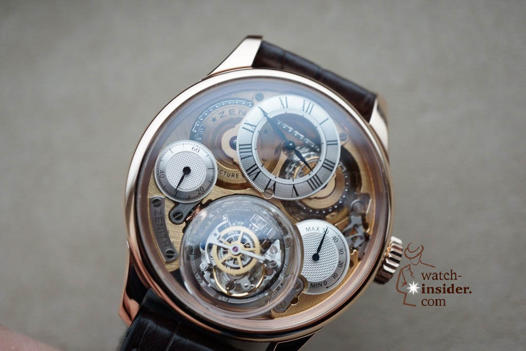 www.watch insider.com | reportages news  | These are the first Zenith Novelties 2013 shown to me by the Zenith CEO | DSC1071 1024x683
