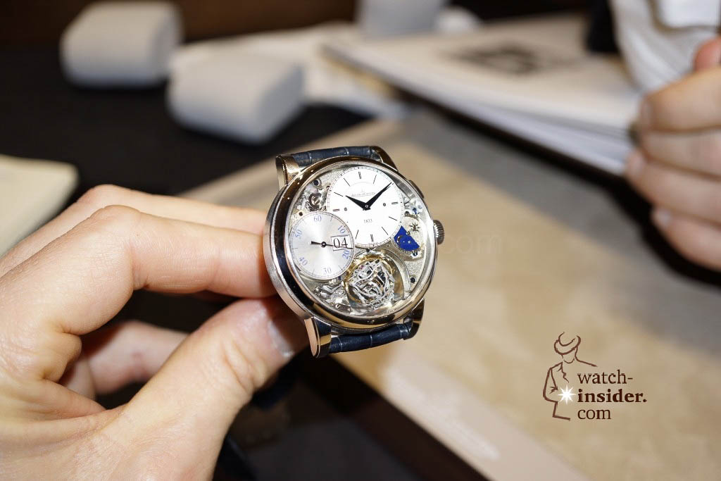 www.watch insider.com | reportages news  | Jaeger LeCoultre SIHH Novelties 2013 presented by CEO Jerome Lambert | DSC1130 1024x683