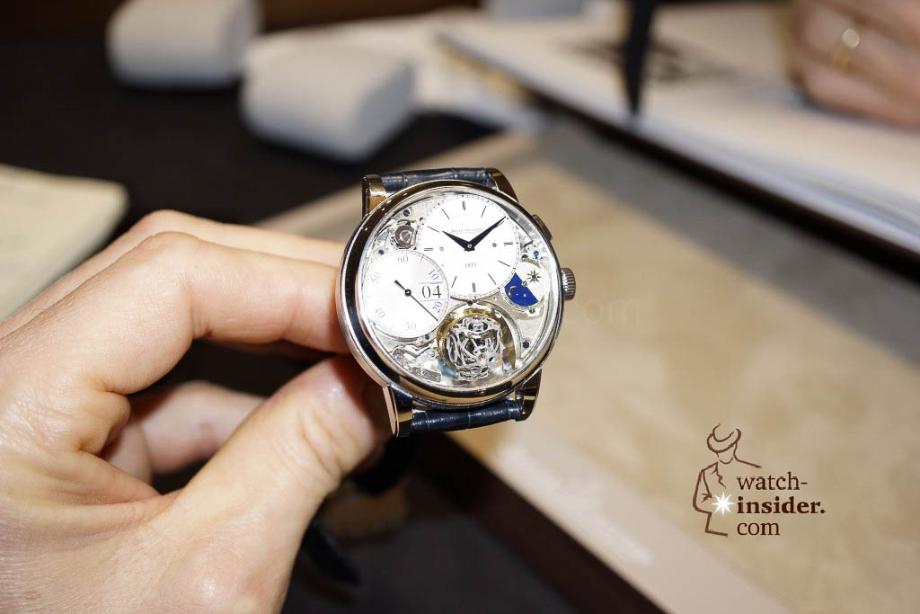 www.watch insider.com | reportages news  | Jaeger LeCoultre SIHH Novelties 2013 presented by CEO Jerome Lambert | DSC1131 1024x683