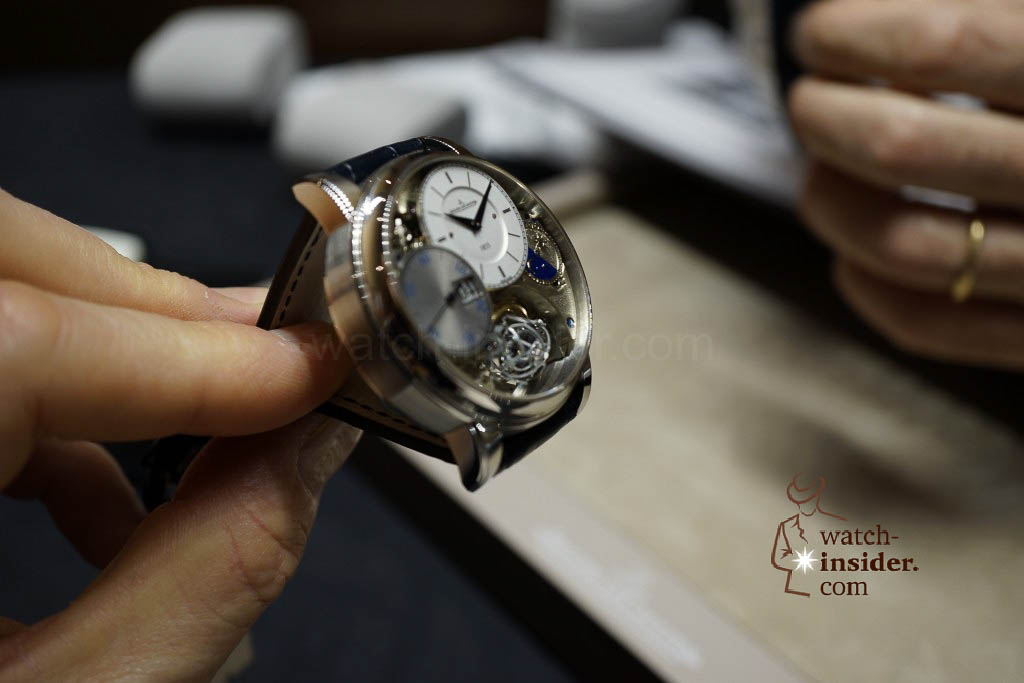 www.watch insider.com | reportages news  | Jaeger LeCoultre SIHH Novelties 2013 presented by CEO Jerome Lambert | DSC1133 1024x683