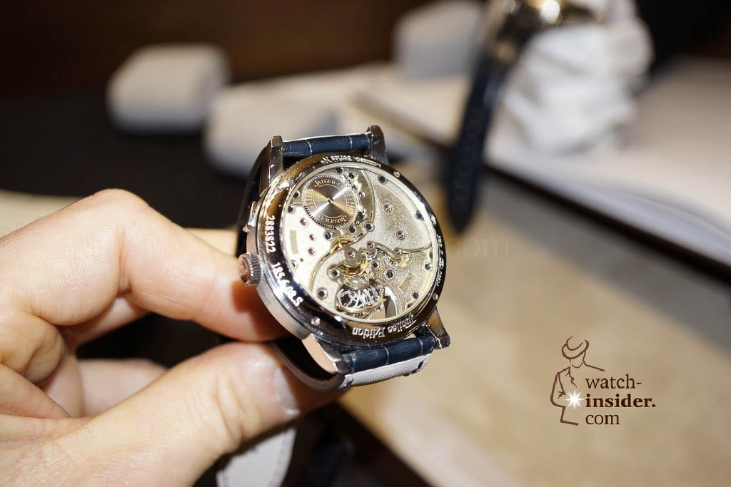 www.watch insider.com | reportages news  | Jaeger LeCoultre SIHH Novelties 2013 presented by CEO Jerome Lambert | DSC1137 1024x683