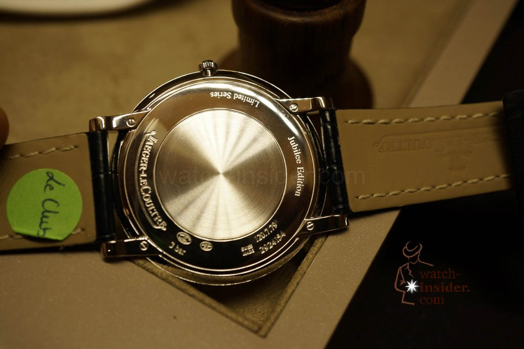 www.watch insider.com | reportages news  | Jaeger LeCoultre SIHH Novelties 2013 presented by CEO Jerome Lambert | DSC1145 1024x683