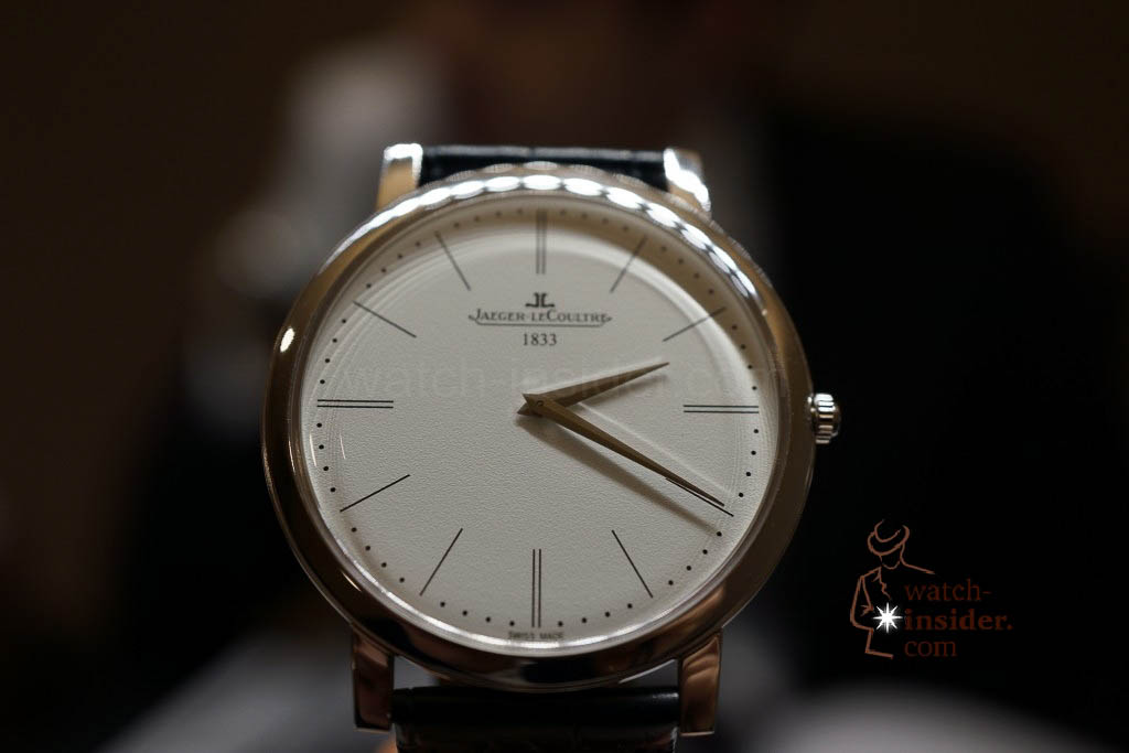 www.watch insider.com | reportages news  | Jaeger LeCoultre SIHH Novelties 2013 presented by CEO Jerome Lambert | DSC1148 1024x683