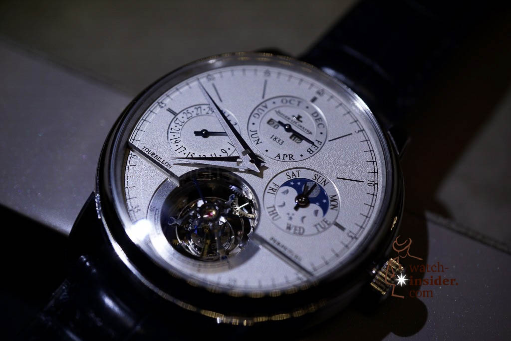 www.watch insider.com | reportages news  | Jaeger LeCoultre SIHH Novelties 2013 presented by CEO Jerome Lambert | DSC1152 1024x683