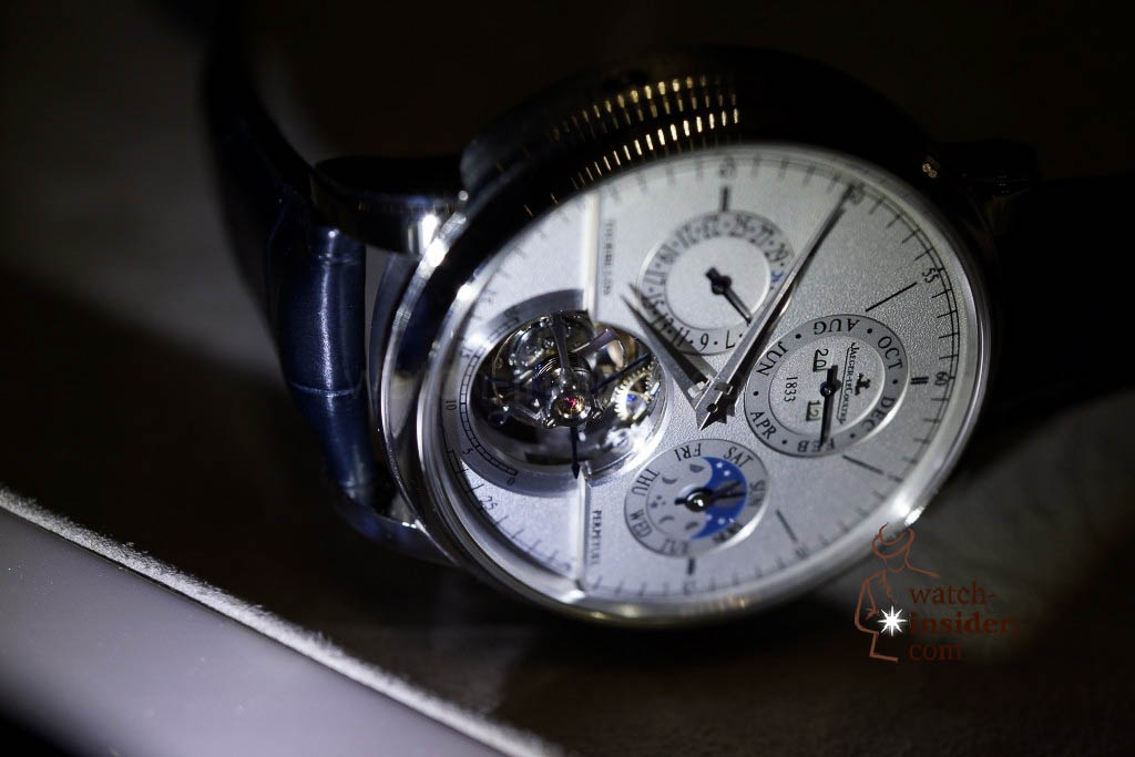 www.watch insider.com | reportages news  | Jaeger LeCoultre SIHH Novelties 2013 presented by CEO Jerome Lambert | DSC1153 1024x683