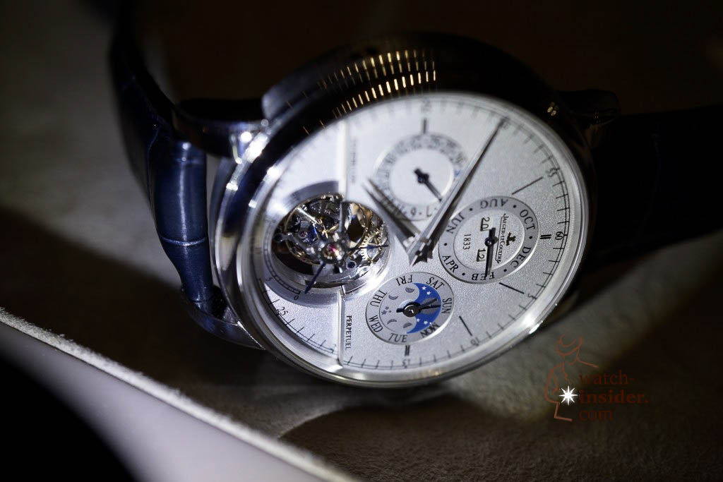 www.watch insider.com | reportages news  | Jaeger LeCoultre SIHH Novelties 2013 presented by CEO Jerome Lambert | DSC1154 1024x683