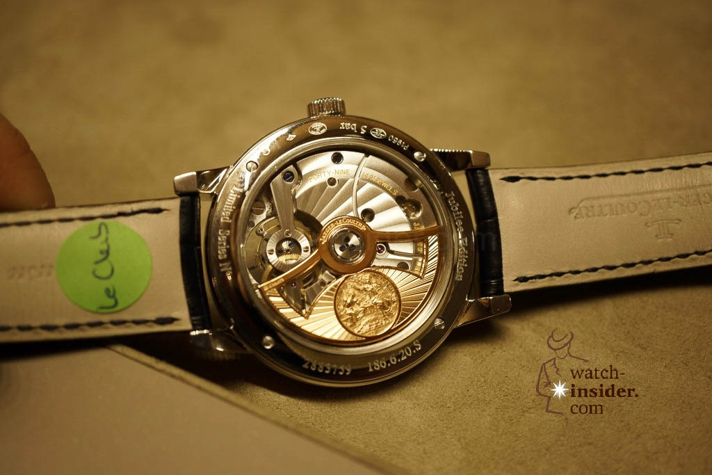 www.watch insider.com | reportages news  | Jaeger LeCoultre SIHH Novelties 2013 presented by CEO Jerome Lambert | DSC1155 1024x683