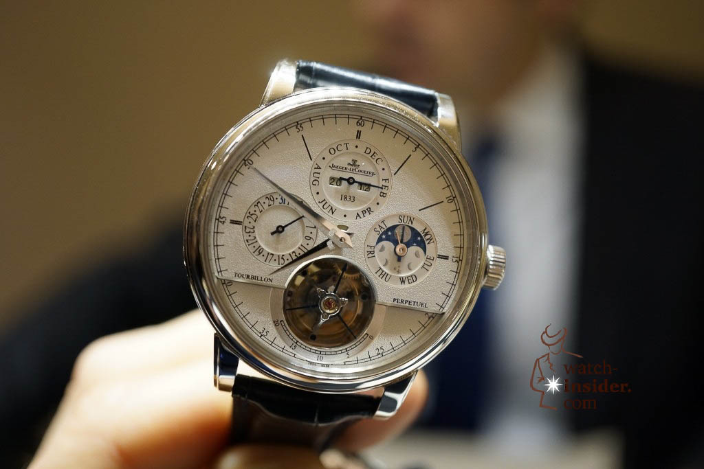 www.watch insider.com | reportages news  | Jaeger LeCoultre SIHH Novelties 2013 presented by CEO Jerome Lambert | DSC1157 1024x683