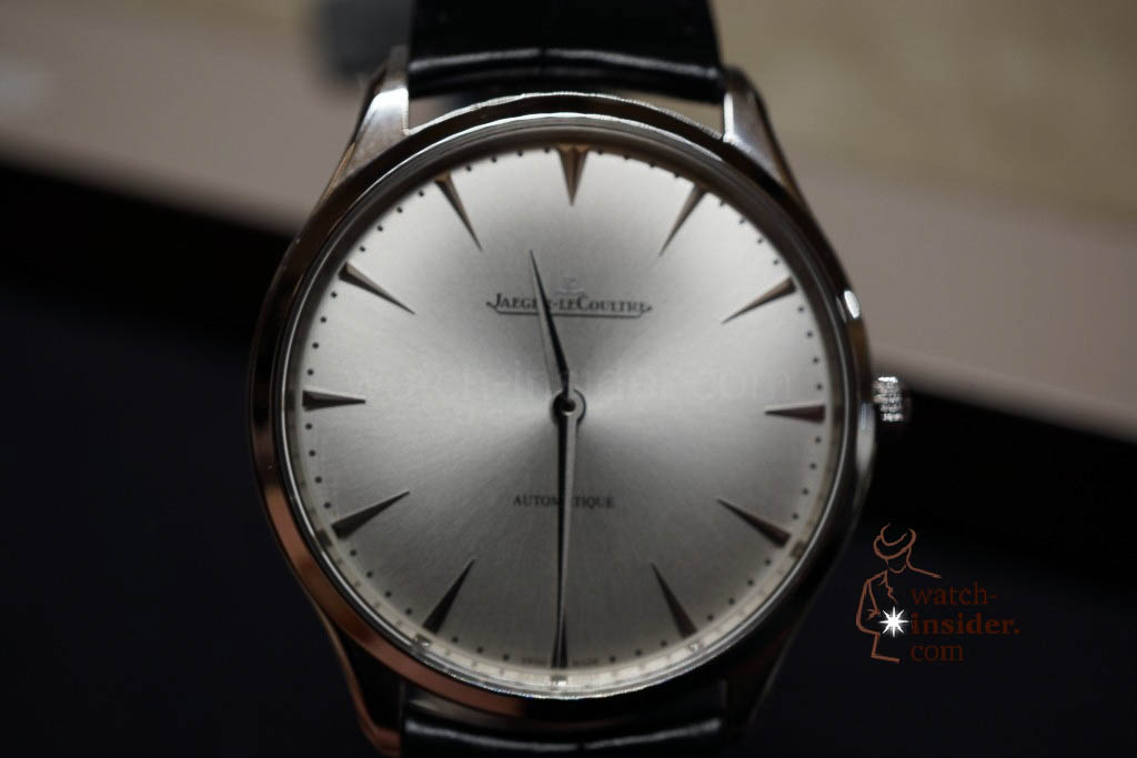 www.watch insider.com | reportages news  | Jaeger LeCoultre SIHH Novelties 2013 presented by CEO Jerome Lambert | DSC1164 1024x683