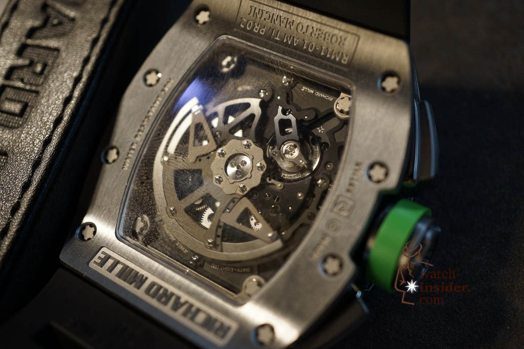 www.watch insider.com | news  | Richard Mille at SIHH 2013 showing me his novelties | DSC1206 1024x683