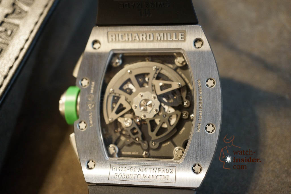 www.watch insider.com | news  | Richard Mille at SIHH 2013 showing me his novelties | DSC1207 1024x683