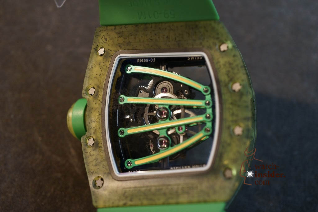 www.watch insider.com | news  | Richard Mille at SIHH 2013 showing me his novelties | DSC1208 1024x683