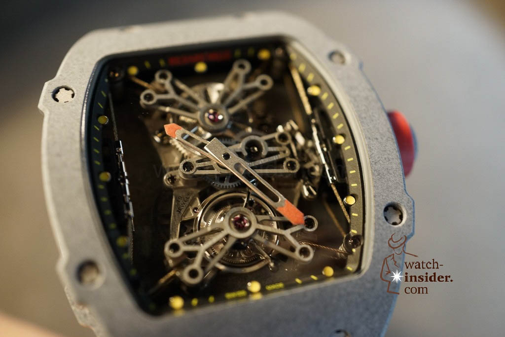 www.watch insider.com | news  | Richard Mille at SIHH 2013 showing me his novelties | DSC1224 1024x683