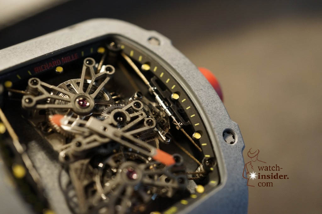 www.watch insider.com | news  | Richard Mille at SIHH 2013 showing me his novelties | DSC1225 1024x683