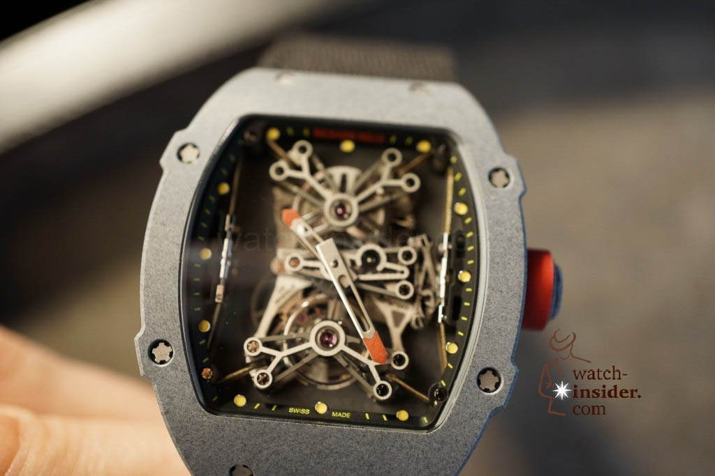 www.watch insider.com | news  | Richard Mille at SIHH 2013 showing me his novelties | DSC1226 1024x683