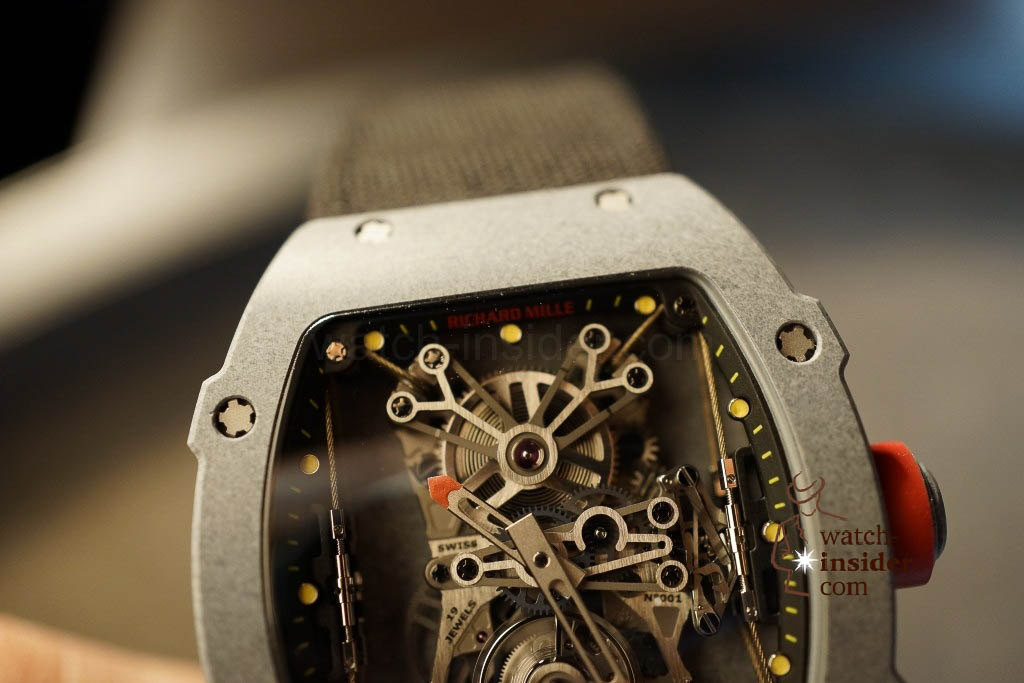 www.watch insider.com | news  | Richard Mille at SIHH 2013 showing me his novelties | DSC1233 1024x683