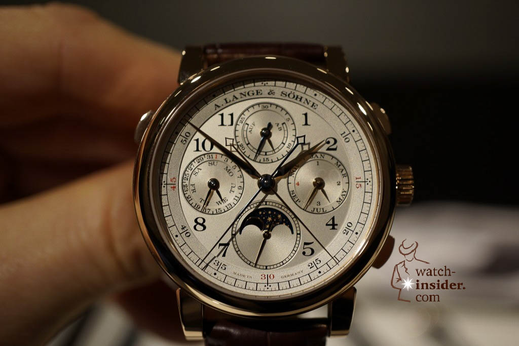 www.watch insider.com | reportages news  | Wilhelm Schmid, CEO of A. Lange & Shne presented me his novelties at SIHH 2013 | DSC1249 1024x683