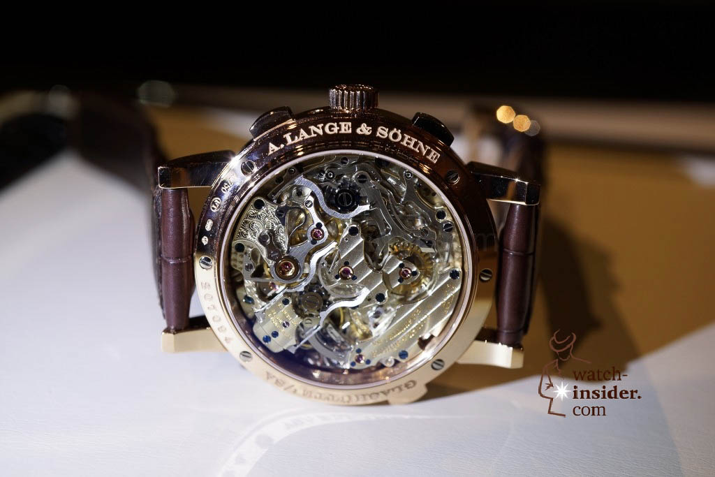 www.watch insider.com | reportages news  | Wilhelm Schmid, CEO of A. Lange & Shne presented me his novelties at SIHH 2013 | DSC1255 1024x683