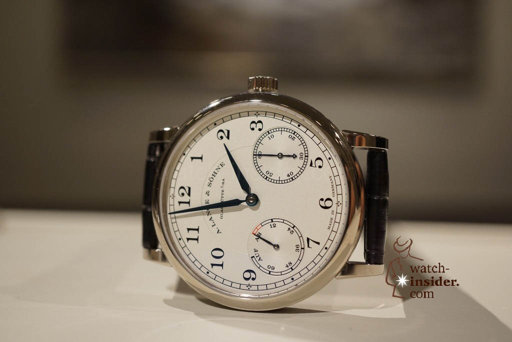 www.watch insider.com | reportages news  | Wilhelm Schmid, CEO of A. Lange & Shne presented me his novelties at SIHH 2013 | DSC1262 1024x683