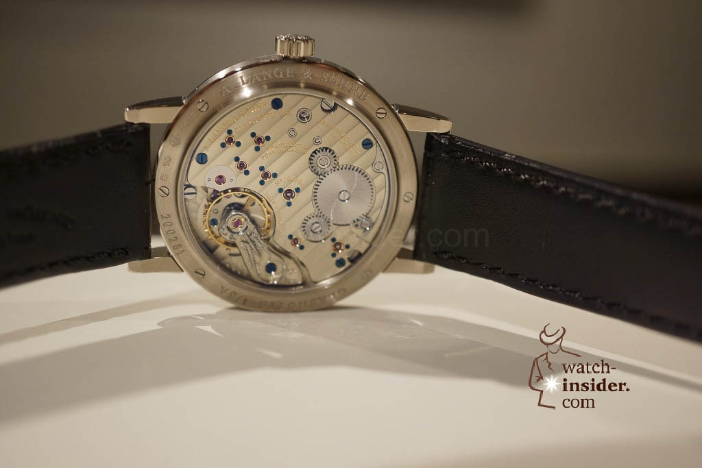 www.watch insider.com | reportages news  | Wilhelm Schmid, CEO of A. Lange & Shne presented me his novelties at SIHH 2013 | DSC1267 1024x683