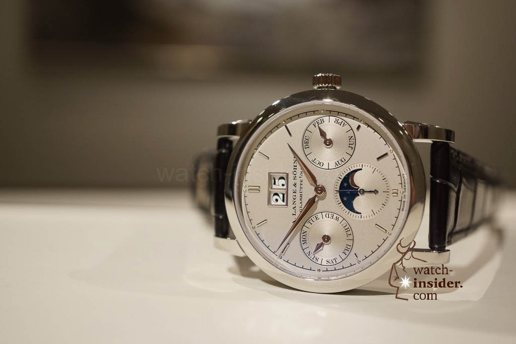 www.watch insider.com | reportages news  | Wilhelm Schmid, CEO of A. Lange & Söhne presented me his novelties at SIHH 2013 | DSC1271 1024x683