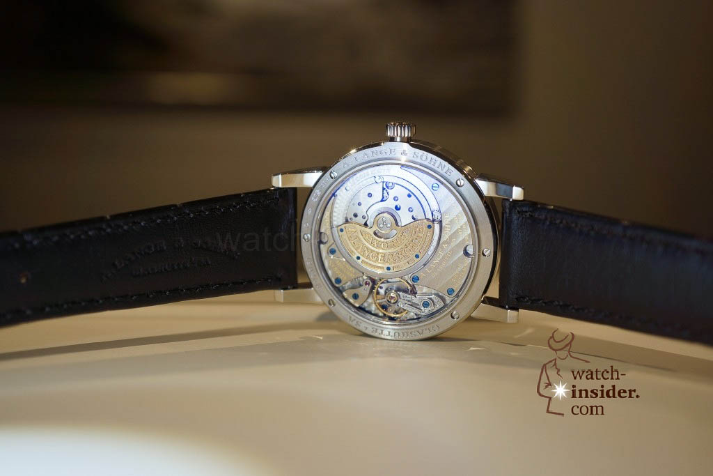 www.watch insider.com | reportages news  | Wilhelm Schmid, CEO of A. Lange & Söhne presented me his novelties at SIHH 2013 | DSC1273 1024x683