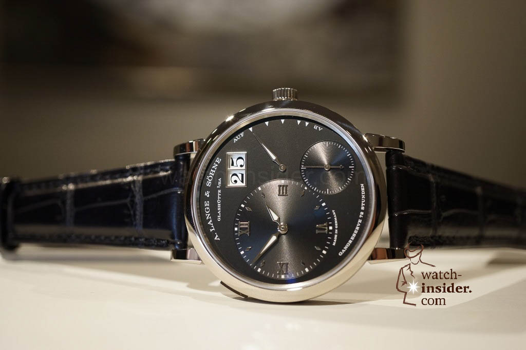 www.watch insider.com | reportages news  | Wilhelm Schmid, CEO of A. Lange & Shne presented me his novelties at SIHH 2013 | DSC1276 1024x683