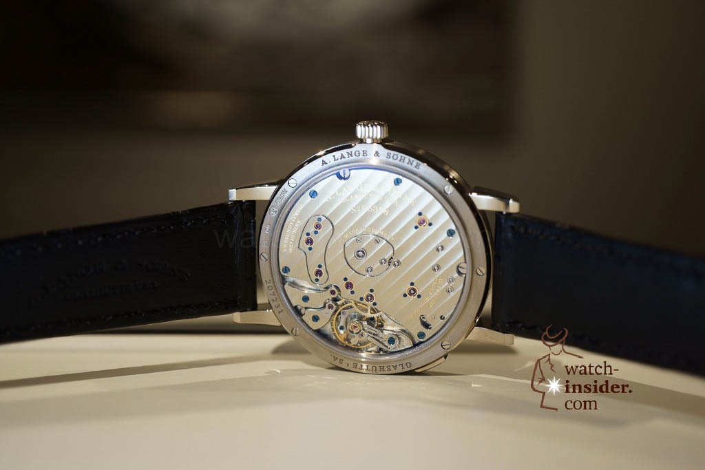 www.watch insider.com | reportages news  | Wilhelm Schmid, CEO of A. Lange & Shne presented me his novelties at SIHH 2013 | DSC1278 1024x683