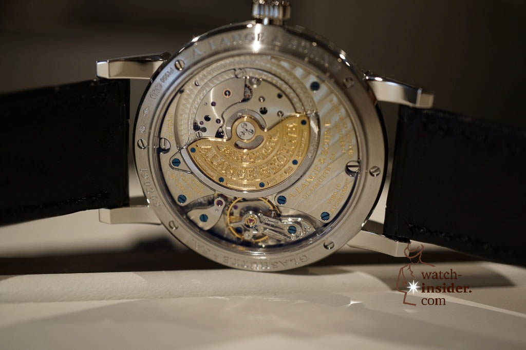 www.watch insider.com | reportages news  | Wilhelm Schmid, CEO of A. Lange & Shne presented me his novelties at SIHH 2013 | DSC1281 1024x683