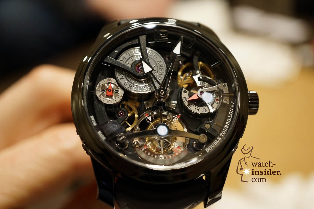 www.watch insider.com | reportages news  | I also met Robert Greubel & Stephen Forsey today at the SIHH 2013 | DSC1313 1024x683