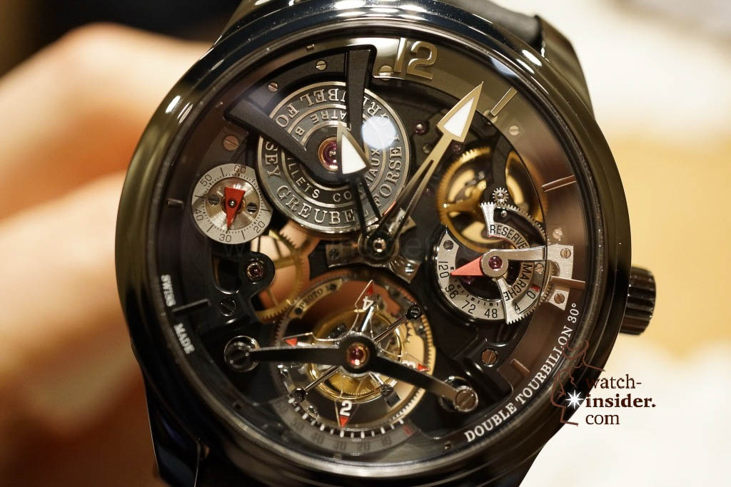 www.watch insider.com | reportages news  | I also met Robert Greubel & Stephen Forsey today at the SIHH 2013 | DSC1315 1024x683