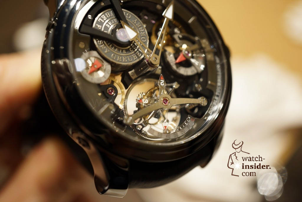 www.watch insider.com | reportages news  | I also met Robert Greubel & Stephen Forsey today at the SIHH 2013 | DSC1322 1024x683