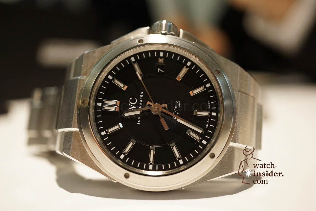 www.watch insider.com | reportages news  | These are the novelties 2013 of IWC presented at the SIHH in Geneva | DSC1381 1024x683