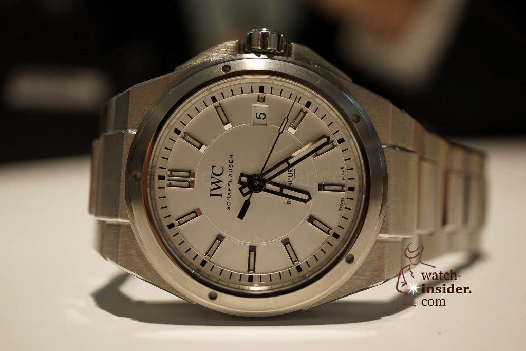 www.watch insider.com | reportages news  | These are the novelties 2013 of IWC presented at the SIHH in Geneva | DSC1383 1024x683