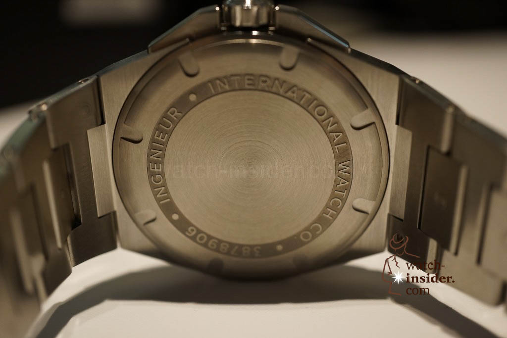 www.watch insider.com | reportages news  | These are the novelties 2013 of IWC presented at the SIHH in Geneva | DSC1384 1024x683