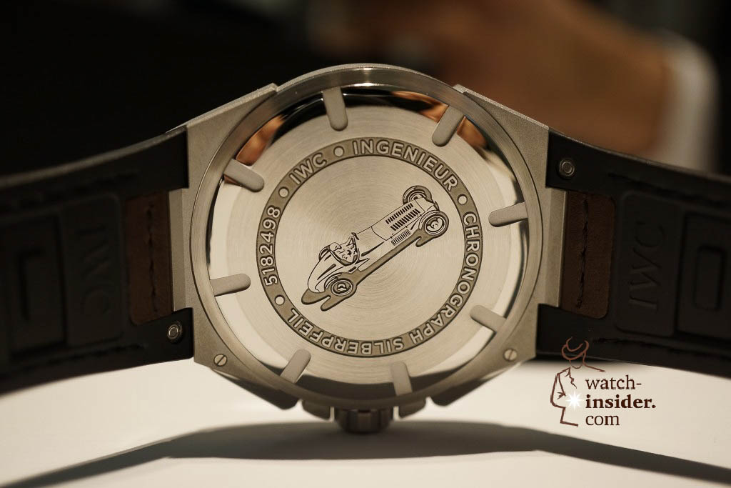 www.watch insider.com | reportages news  | These are the novelties 2013 of IWC presented at the SIHH in Geneva | DSC1387 1024x683