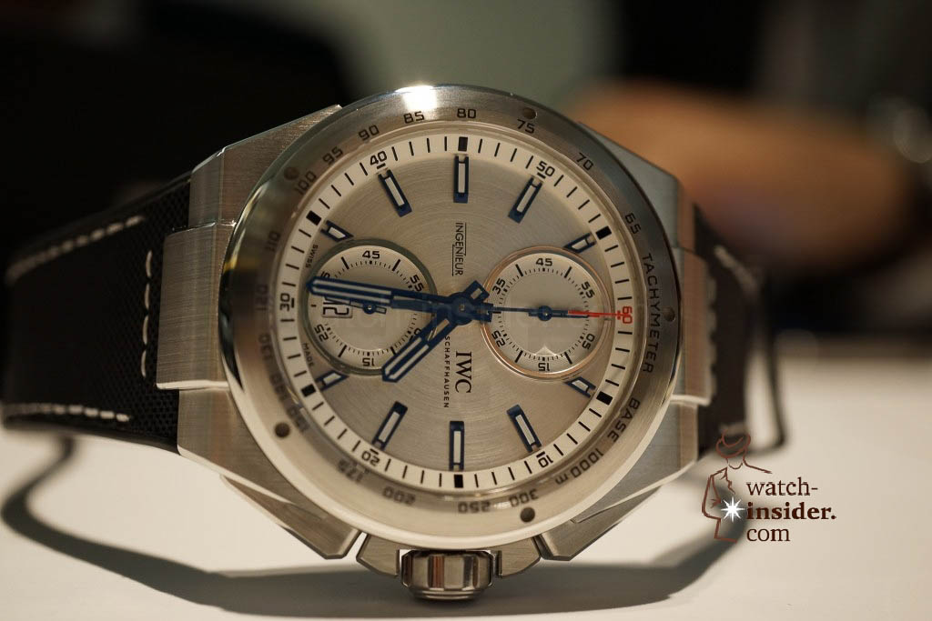 www.watch insider.com | reportages news  | These are the novelties 2013 of IWC presented at the SIHH in Geneva | DSC1393 1024x683