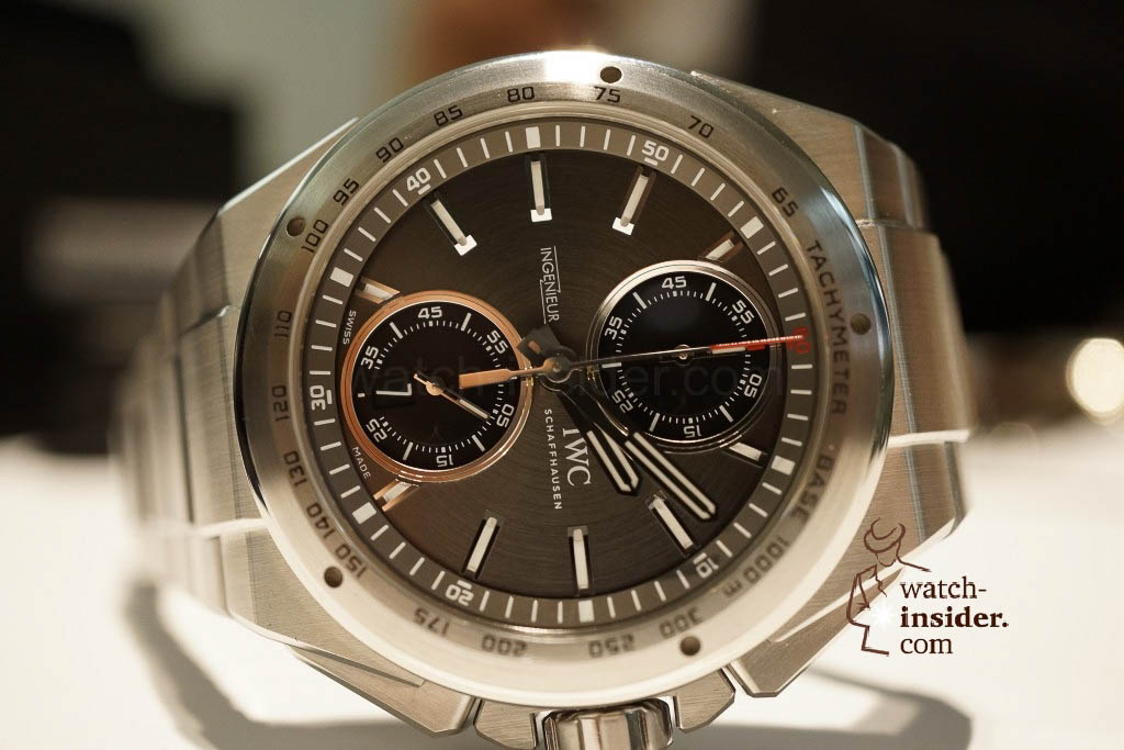www.watch insider.com | reportages news  | These are the novelties 2013 of IWC presented at the SIHH in Geneva | DSC1401 1024x683