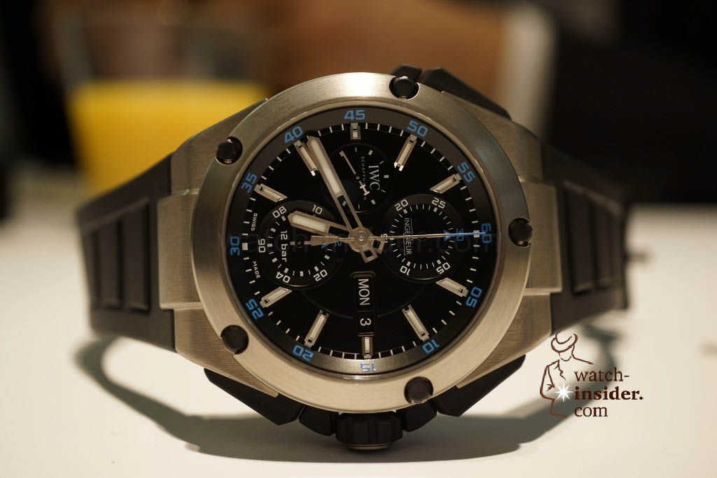 www.watch insider.com | reportages news  | These are the novelties 2013 of IWC presented at the SIHH in Geneva | DSC1413 1024x683