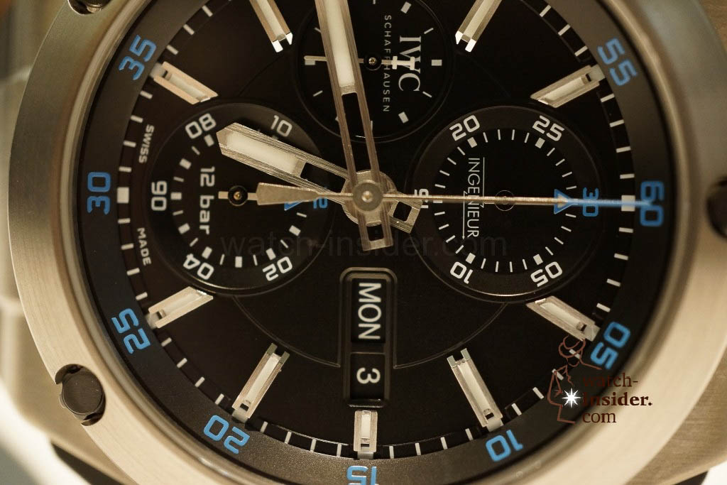 www.watch insider.com | reportages news  | These are the novelties 2013 of IWC presented at the SIHH in Geneva | DSC1416 1024x683