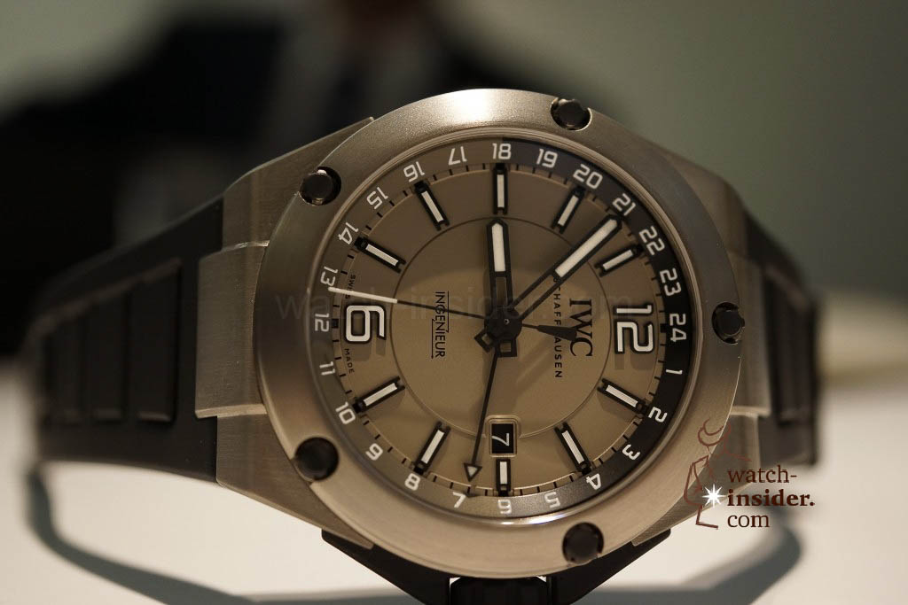 www.watch insider.com | reportages news  | These are the novelties 2013 of IWC presented at the SIHH in Geneva | DSC1419 1024x683