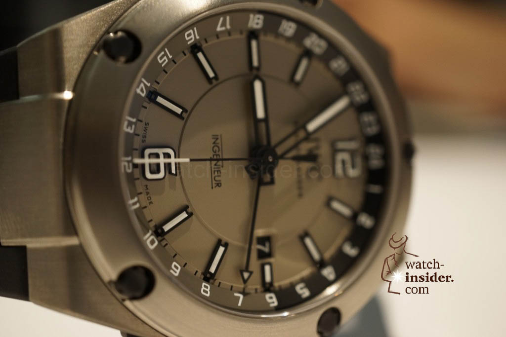 www.watch insider.com | reportages news  | These are the novelties 2013 of IWC presented at the SIHH in Geneva | DSC1429 1024x683