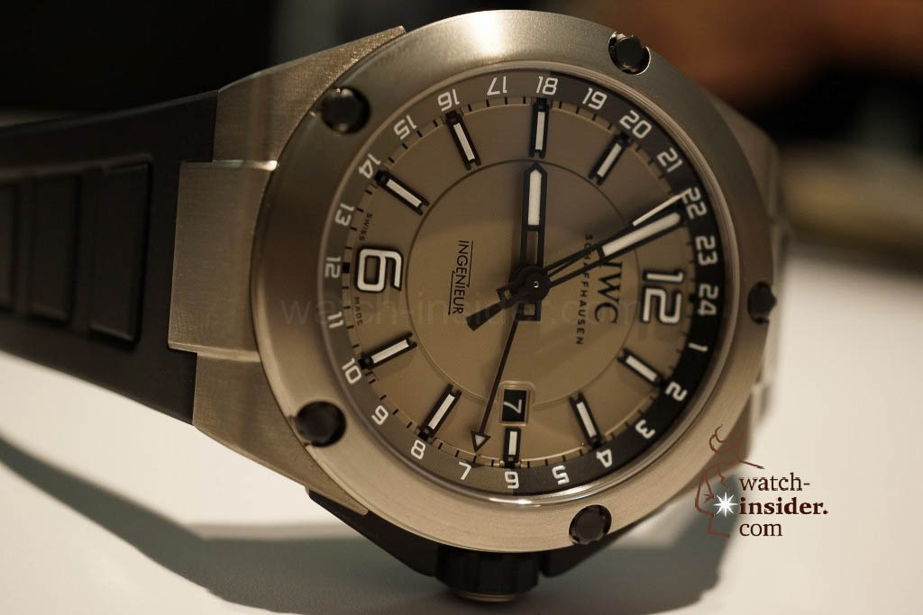 www.watch insider.com | reportages news  | These are the novelties 2013 of IWC presented at the SIHH in Geneva | DSC1430 1024x683
