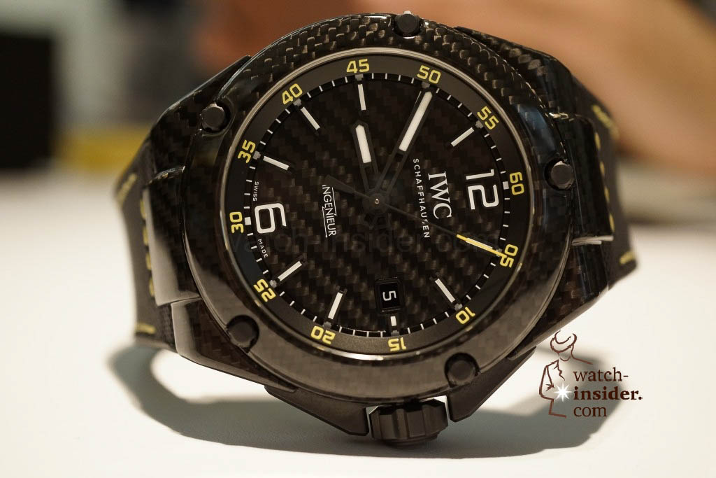 www.watch insider.com | reportages news  | These are the novelties 2013 of IWC presented at the SIHH in Geneva | DSC1431 1024x683